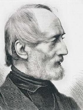 Giuseppe Mazzini (1805-72) Italian Writer, Revolutionary and Political Thinker (engraving)