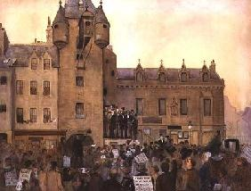 Before the Ballot Act, Canongate Tolbooth, Edinburgh