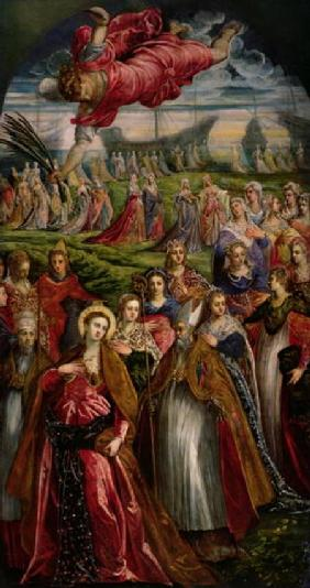 St. Ursula and the Eleven Thousand Virgins