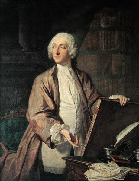Victor Riquetti (1715-89), Marquis of Mirabeau, 1743 (oil on canvas)