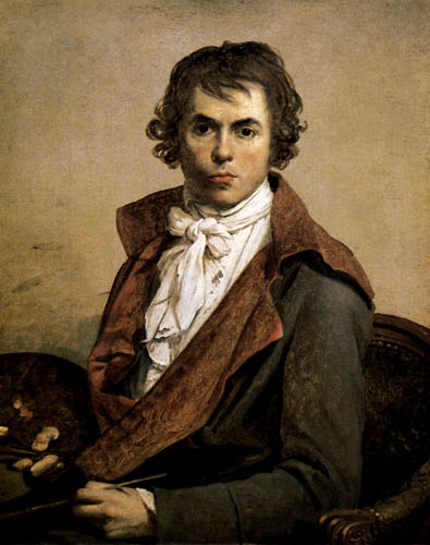 Jacques Louis David - portrét