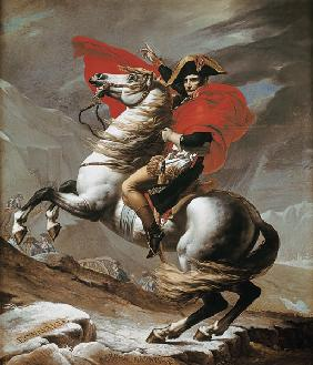 Napoleon at the crossing of the Alps