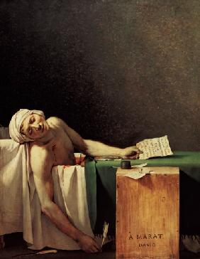 The death of the Marat