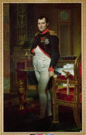Napoleon Bonaparte (1769-1821) in his Study at the Tuileries
