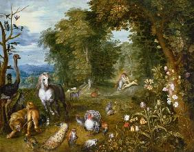 Landscape with the Creation of Eve