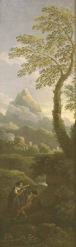 Figures in a classical landscape