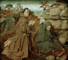 Stigmatisation of St. Francis