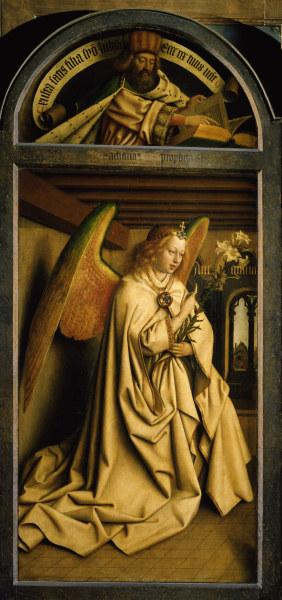 Ghent Altar, Angel