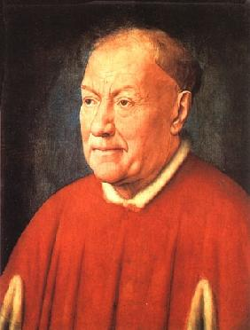 Portrait of the cardinal Nicola Albergati