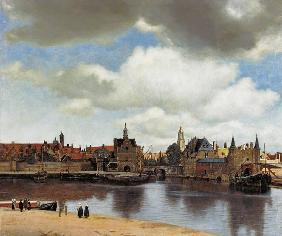 View of Delft 1653