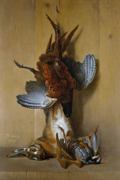 Still Life with a Hare, a Pheasant and a Red Partridge