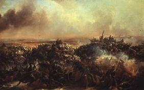 The Battle of Sebastopol, central section of triptych