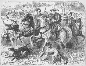 Henry VIII at the Royal Hunt in Epping Forest, on the Morning of the Execution of Anne Boleyn