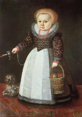 Young Child with a Dog