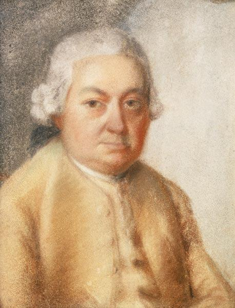 Portrait of Carl Philipp Emanuel Bach, c.1780