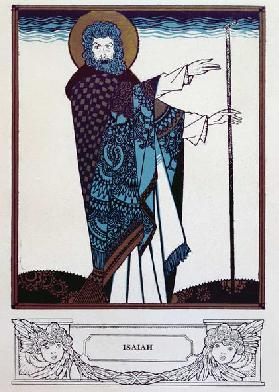 Isaiah from Everyman, published by Chapman & Hall, 1925 (colour litho)