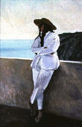 Girl at Cala NPorter