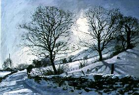 Winter Afternoon in Dentdale, 1991