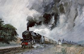 Steam Train at Garsdale, Cumbria