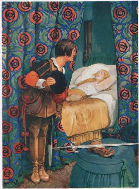 Sleeping Beauty (litho)