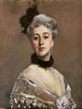 Portrait of the princess de Beaumont.