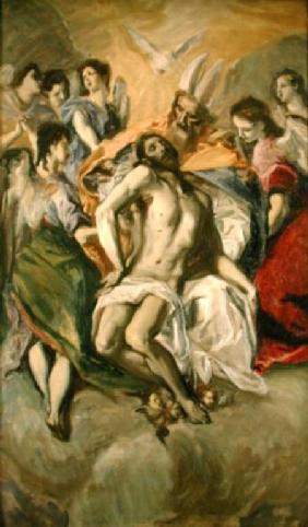 The Descent from the Cross, after El Greco