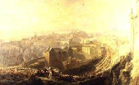 The Entry of George IV into Edinburgh from the Carlton Hill