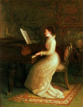 Lady at the Piano