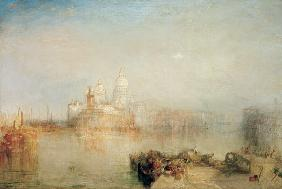 The Dogana and Santa Maria della Salute, Venice 1843