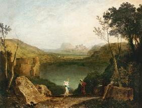 Aeneas and the Sibyl, Lake Avernus 1798