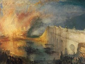 The Burning of the Houses of Parliament #1 1834/35