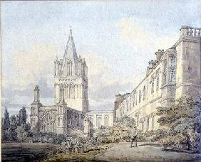 Christ Church Cathedral and Deanery, Oxford  on