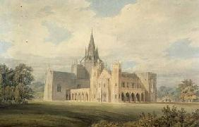 Perspective View of Fonthill Abbey from the South West