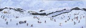 On the Slopes, 1995 (w/c)