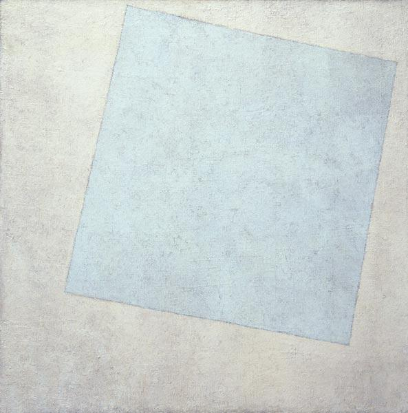 Suprematist Composition. White on White