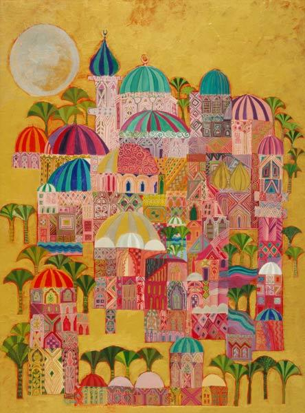 The Golden City, 1993-94 (acrylic on canvas)