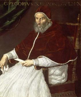 Portrait of Pope Gregory XIII (Ugo Buoncompagni) (1502-85)