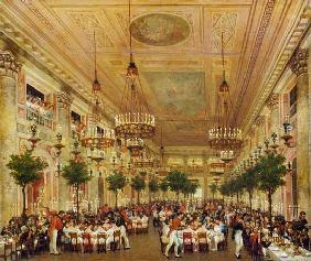 Feast at the Tuileries to Celebrate the Marriage of Leopold I (1790-1865) to Princess Louise of Orle