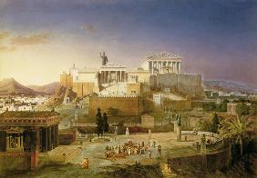 The Akropolis of Athens 1846
