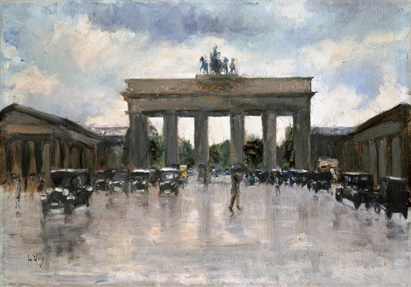 The Brandenburger gate in Berlin