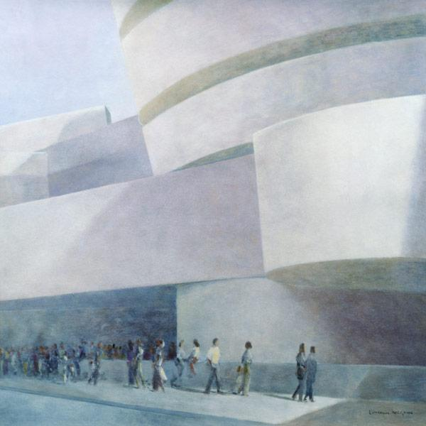 Guggenheim Museum, New York, 2004 (acrylic on canvas)