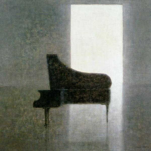Piano Room, 2005 (acrylic)