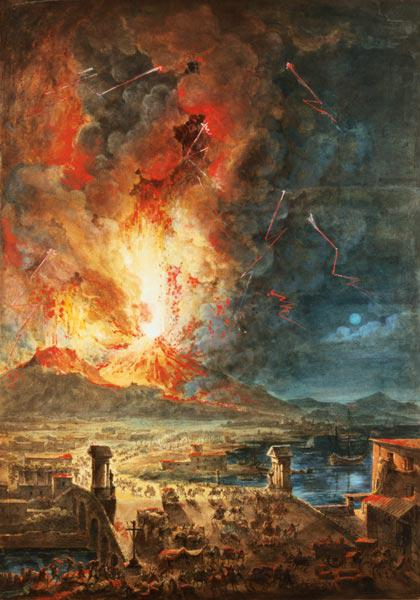 The Great Eruption of Mt. Vesuvius