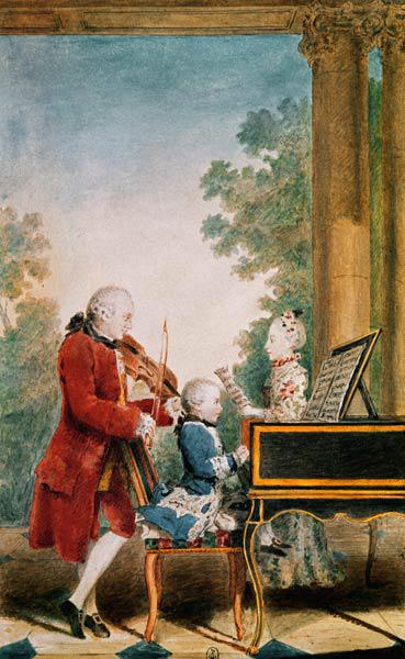 Mozart w.Father & Sister , Carmontelle