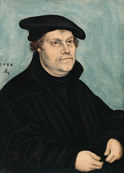 Martin Luther (1483-1546) at the Age of 50