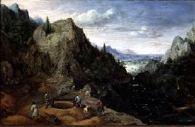 Landscape with a Foundry