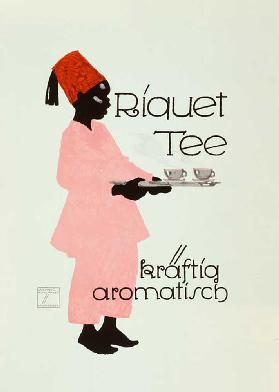 Riquet tea, strongly aromatic