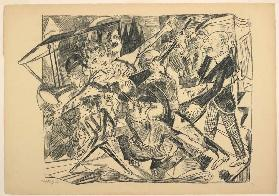 The Martyrdom, plate four from Die Hölle