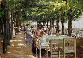 restaurant Jacob at Nienstedten near the Elbe
