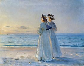 Two Women on the Beach